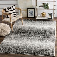 Safavieh Adirondack Modern Abstract Silver/ Black Rug - 8' x 10'
