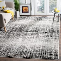 Safavieh Adirondack Modern Abstract Ivory / Silver Rug - 8' x 10'