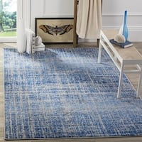 Safavieh Adirondack Modern Abstract Blue/ Silver Area Rug - 8' x 10'