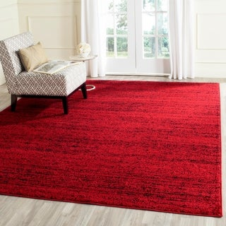Safavieh Adirondack Modern Red/ Black Rug (8' x 10')