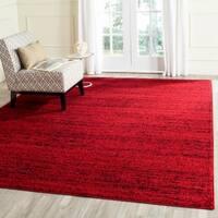 Safavieh Adirondack Modern Red/ Black Rug - 8' x 10'