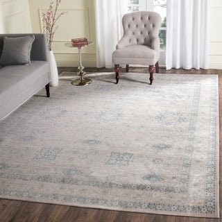 Safavieh Archive Vintage Grey/ Blue Distressed Rug (8' x 10')