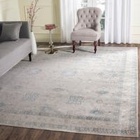 Safavieh Archive Vintage Grey/ Blue Distressed Area Rug - 9' x 12'