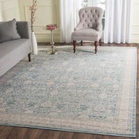 Safavieh Archive Vintage Blue/ Grey Distressed Rug (8' x 10')