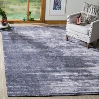 Safavieh Handmade Mirage Modern Lavender Aura Wool Rug (9' x 12')