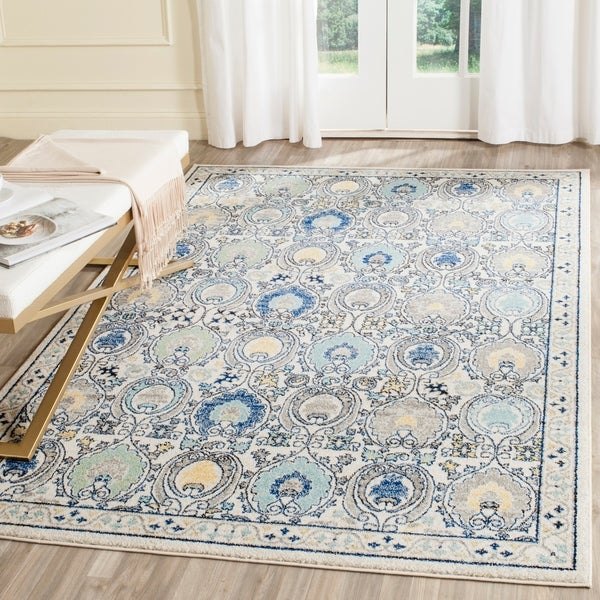 Safavieh Evoke Vintage Ivory / Grey Distressed Rug - 10' x 14'
