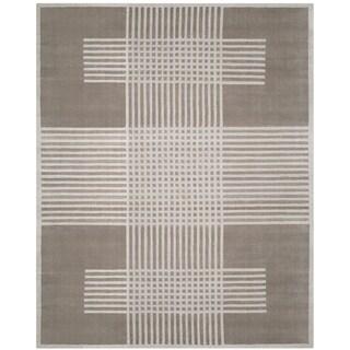 Safavieh Handmade Mirage Modern Light Grey Wool Rug (8' x 10')