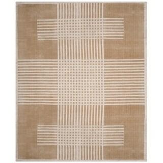Safavieh Handmade Mirage Modern Beige Wool Rug (8' x 10')