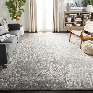 safavieh evoke vintage oriental grey ivory distressed rug 10u0027 x 14u0027