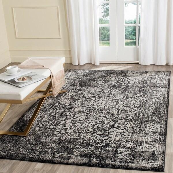Safavieh Evoke Vintage Oriental Black/ Grey Distressed Rug - 10' x 14'