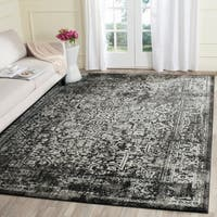 Safavieh Evoke Vintage Oriental Black/ Grey Distressed Rug - 8' x 10'