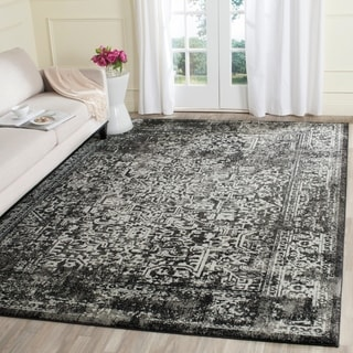 Safavieh Evoke Vintage Oriental Black/ Grey Distressed Rug (9' x 12')