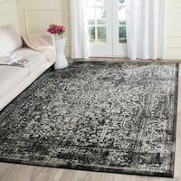 Safavieh Evoke Vintage Oriental Black/ Grey Distressed Rug (9' x 12') - 9' x 12'