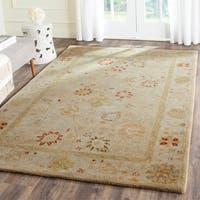 Safavieh Handmade Antiquity Taupe/ Beige Wool Rug (7' 6 x 9' 6)