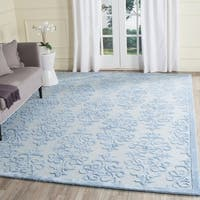 Safavieh Handmade Bella Blue Wool Rug - 9' X 12'
