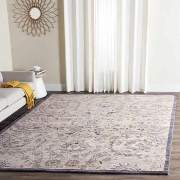 Safavieh Handmade Bella Beige/ Multi Wool Rug - 8' x 10'