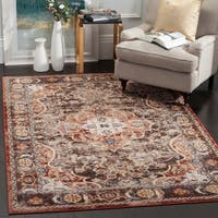 Safavieh Bijar Traditional Oriental Brown/ Rust Distressed Rug (8' x 10')
