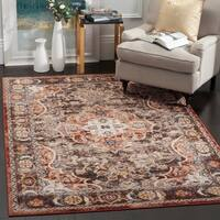 Safavieh Bijar Traditional Oriental Brown/ Rust Distressed Rug - 9' x 12'