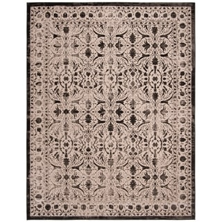 Safavieh Brilliance Vintage Cream/ Black Distressed Rug (8' x 10')