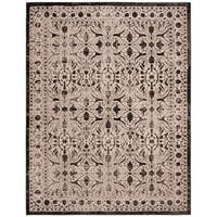 Safavieh Brilliance Vintage Cream/ Black Distressed Rug - 9' x 12'