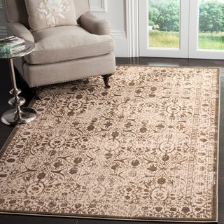 Safavieh Brilliance Vintage Cream/ Bronze Distressed Rug (9' x 12')