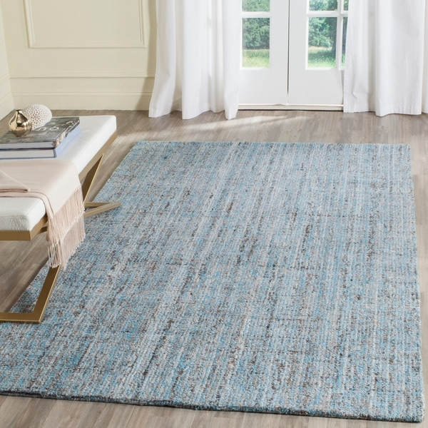 Safavieh Handmade Modern Abstract Blue/ Multi Rug - 8' x 10'