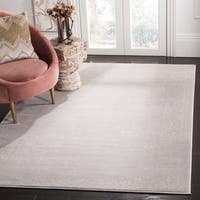 Safavieh Carnegie Vintage Cream/ Light Grey Distressed Rug - 9' x 12'