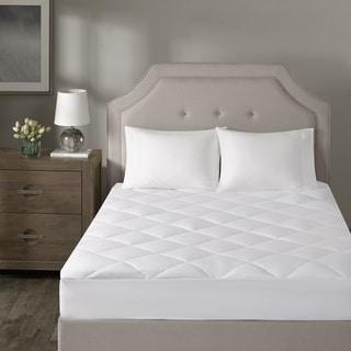 Madison Park Signature Durham White 1000 Thread Count Cotton Blend Mattress Pad