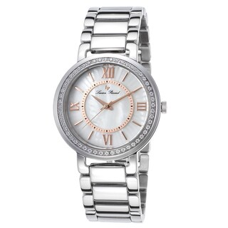 Lucien Piccard Alice Stainless Steel White Mother of Pearl Watch
