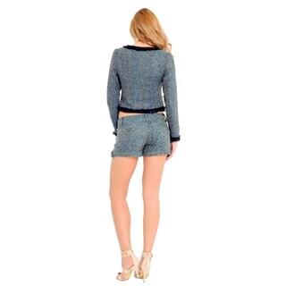Sara Boo Women's Multicolored Shorts