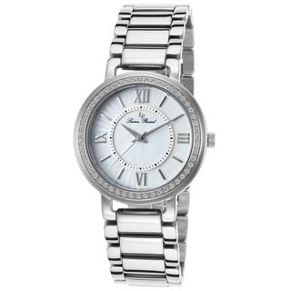 Lucien Piccard Alice Stainless Steel White Mother of Pearl Dial Watch