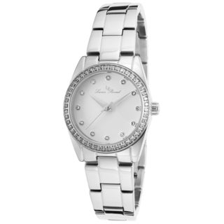Lucien Piccard Women's LaBelle Stainless Steel White Dial Watch