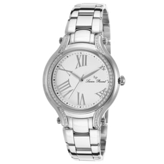 Lucien Piccard Elisia Stainless Steel Grey White Watch