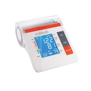 truMedic BP3000 Upper Arm Electronic Blood Pressure Monitor|https://ak1.ostkcdn.com/images/products/11745548/P18662097.jpg?impolicy=medium