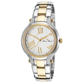 Lucien Piccard Elisia Two-Tone Stainless Steel White Dial Watch