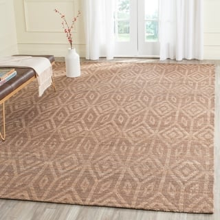 Safavieh Cape Cod Handmade Camel Jute Natural Fiber Rug (9' x 12')|https://ak1.ostkcdn.com/images/products/11745583/P18662190.jpg?impolicy=medium