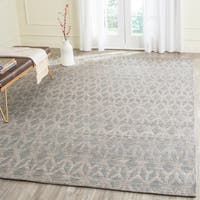 Safavieh Cape Cod Handmade Grey / Gold Jute Natural Fiber Rug - 9' x 12'