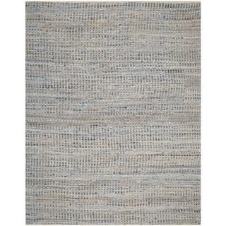 Safavieh Handmade Cape Cod Arlena Coastal Jute Rug (10 x 14 - Natural/Blue)
