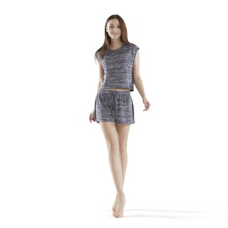 INK+IVY Space-Dye Shorts & Short Sleeve Top Set 3-Color Option