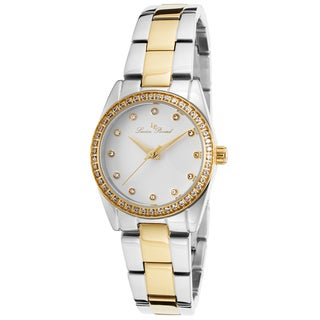 Lucien Piccard Women's LaBelle Silver-Tone and Gold-Tone Stainless Steel White Dial Watch