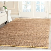 Safavieh Cape Cod Handmade Yellow Jute Natural Fiber Rug - 9' x 12'