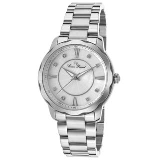 Lucien Piccard Balarina Stainless Steel White Mother of Pearl Dial Watch