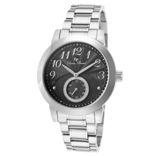 Lucien Piccard Garda Stainless Steel Black Dial Watch