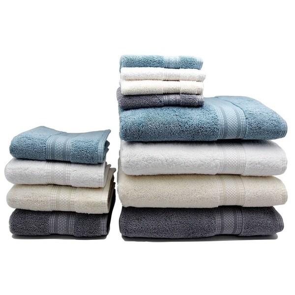 Home Fashion Designs Regatta Collection Premium 6-piece Turkish Cotton Luxury Towel Set