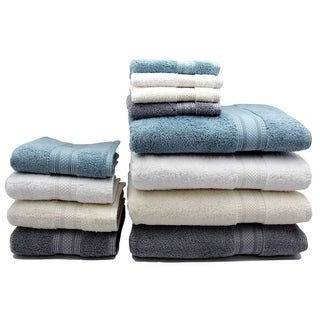 Home Fashion Designs Regatta Collection Premium 6-piece Turkish Cotton Luxury Towel Set