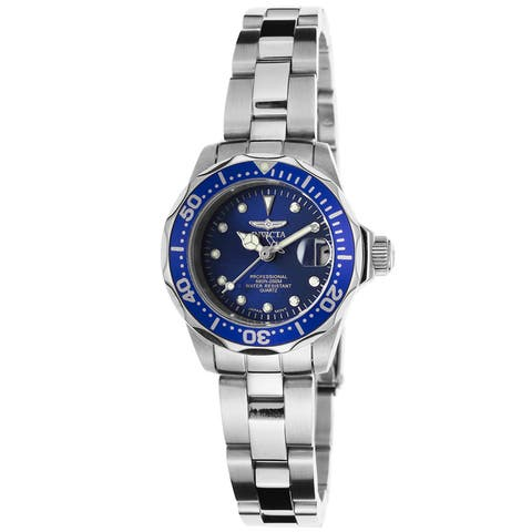 Invicta Women's 17034 'Pro Diver' Stainless Steel Watch