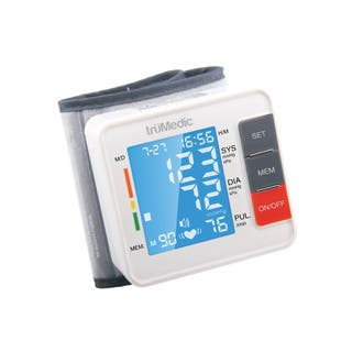 truMedic BP1000 Wrist Electronic Blood Pressure Monitor|https://ak1.ostkcdn.com/images/products/11745678/P18662205.jpg?impolicy=medium