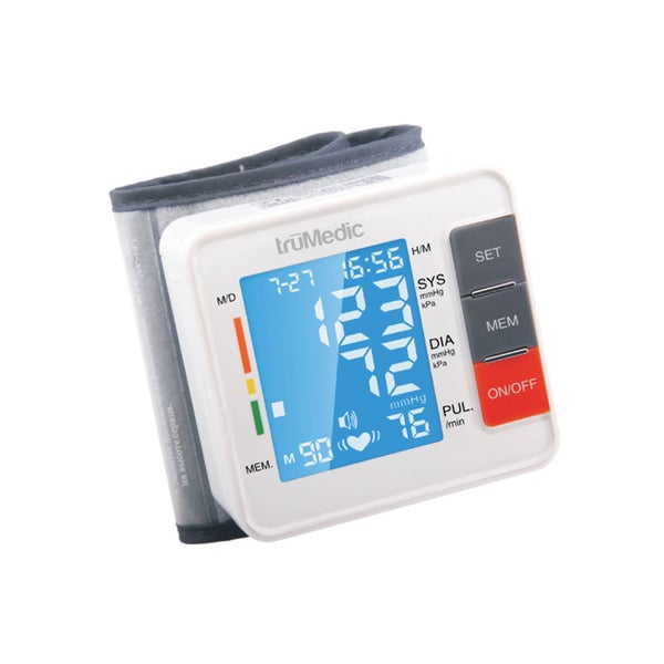 truMedic BP1000 Wrist Electronic Blood Pressure Monitor
