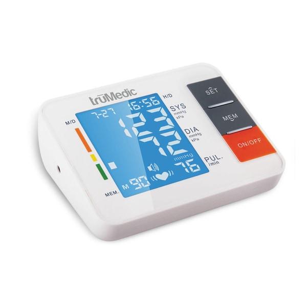 truMedic BP2000 Upper Arm Electronic Blood Pressure Monitor