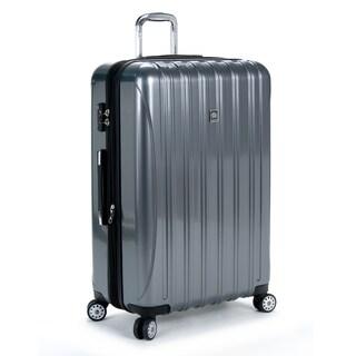 Delsey Helium Aero Titanium Grey 29-inch Expandable Hardside Spinner Upright Suitcase